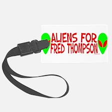 aliensforfredthompson.png Luggage Tag