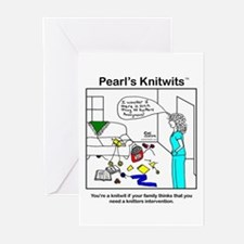 Pearl's Knitting Intervention Cards (pack of 6)