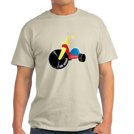 old_school_bigwheel_trans_worn T-Shirt