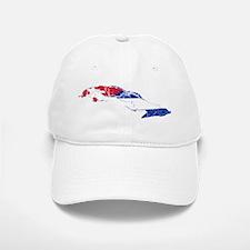 Cuba Flag And Map Cap