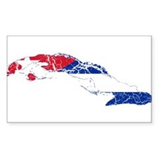 Cuba Flag And Map Decal