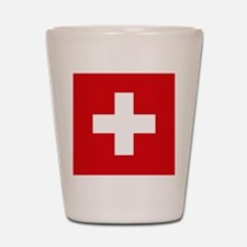 Switzerland Flag Shot Glass