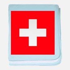 Switzerland Flag baby blanket