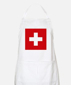 Switzerland Flag Apron