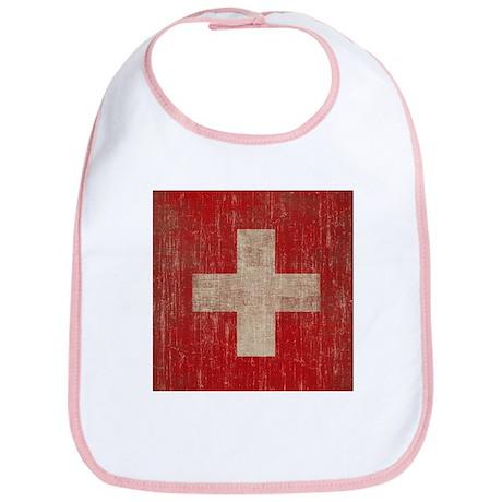 Vintage Switzerland Flag Bib