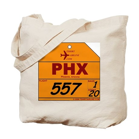 PHX - Phoenix, Arizona Airpor Tote Bag