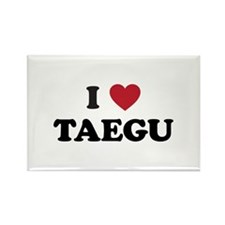 I Love Taegu Rectangle Magnet