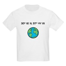 Austin texas latitude and longitude t shirts shirts for Custom t shirts austin tx