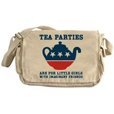 Tea Parties Messenger Bag