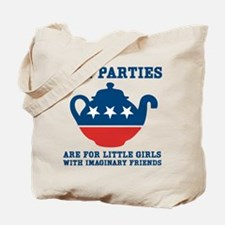 Tea Parties Tote Bag