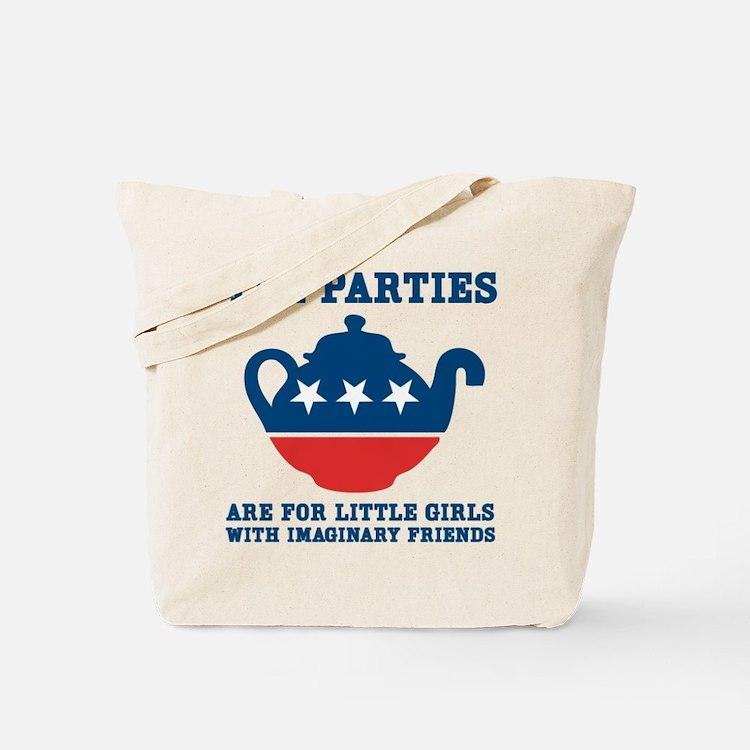 Tea Parties Tote Bag
