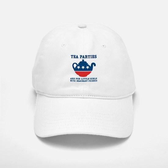 Tea Parties Baseball Baseball Cap
