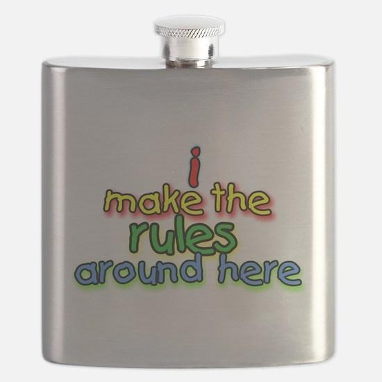 I Make The Rules Flask