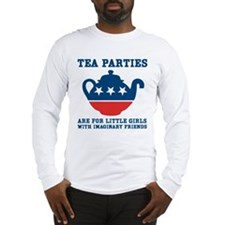 Tea Parties Long Sleeve T-Shirt