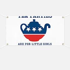 Tea Parties Banner