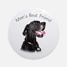 Man's Best Friend Ornament (Round)