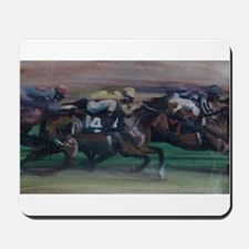 The Horse Race Mousepad