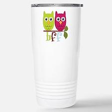 BFF Best Friends Forever Owls Travel Mug
