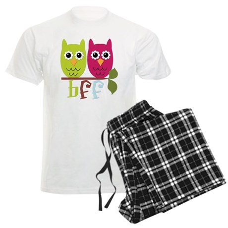 BFF Best Friends Forever Owls Men's Light Pajamas
