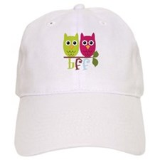 BFF Best Friends Forever Owls Baseball Cap