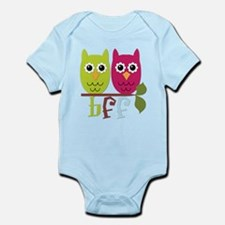 BFF Best Friends Forever Owls Infant Bodysuit