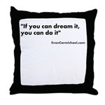 Motivational #2 Throw Pillow