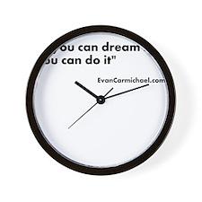 Motivational #2 Wall Clock