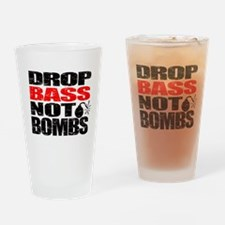 Unique Drum and bass Drinking Glass