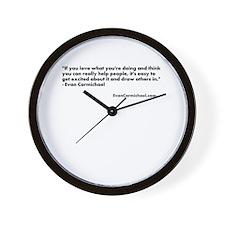 Evan Carmichael 2012/07/12 Wall Clock