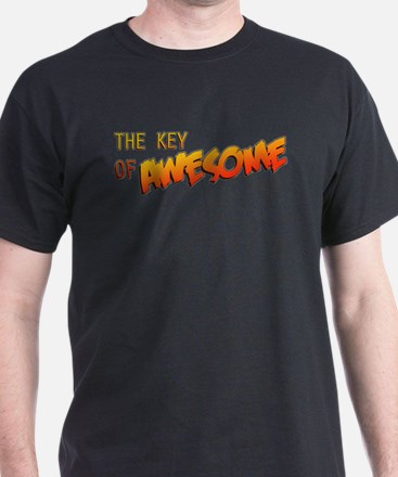 The Key of Awesome Logo T-Shirt
