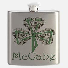 McCabe Shamrock Flask