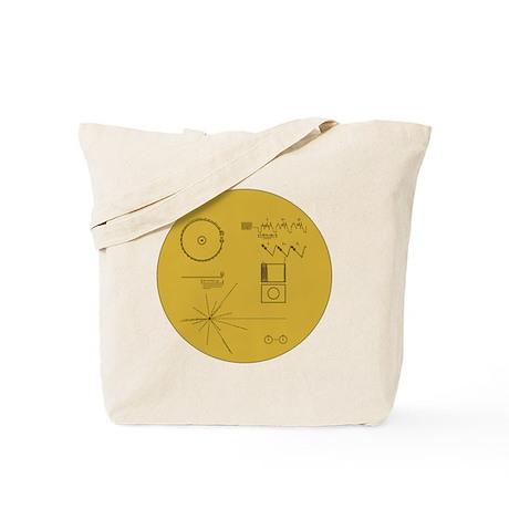 Voyager Spacecraft Art Tote Bag