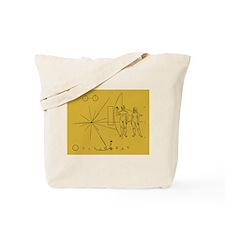 Pioneer Plaque Tote Bag