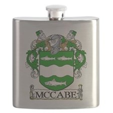 McCabe Coat of Arms Flask