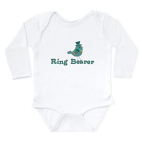 Ring Bearer Long Sleeve Infant Bodysuit