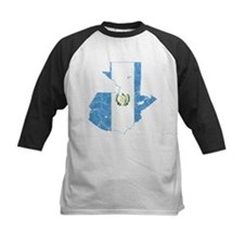 Guatemala Flag And Map Tee
