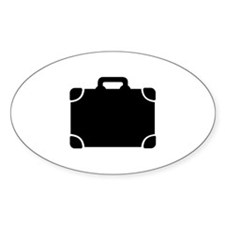 Suitcase baggage Decal