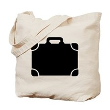 Suitcase baggage Tote Bag