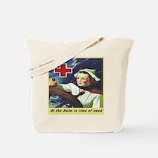 Nurse at the Helm Tote Bag