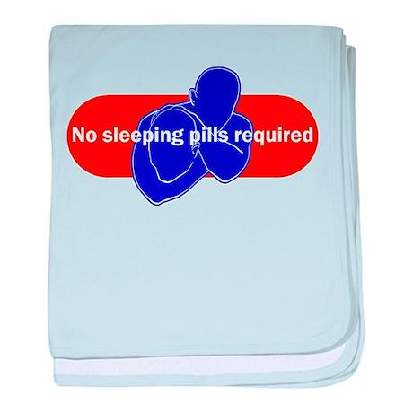 No sleeping pills required baby blanket