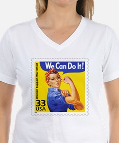 Rosie the Riveter Stamp Shirt