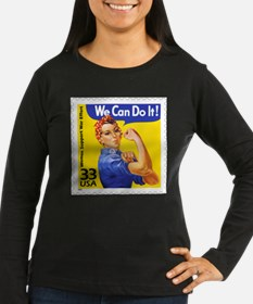 Rosie the Riveter Stamp T-Shirt