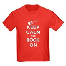 Keep Calm & Rock On T