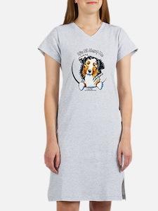 Australian Shepherd IAAM Women's Nightshirt