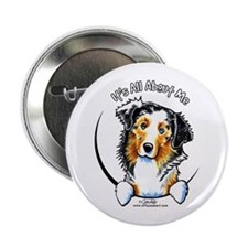 "Australian Shepherd IAAM 2.25"" Button"