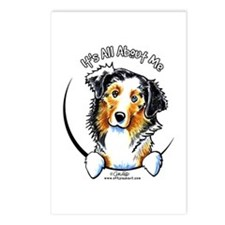Australian Shepherd IAAM Postcards (Package of 8)