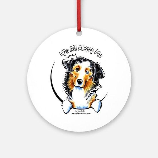 Australian Shepherd IAAM Ornament (Round)