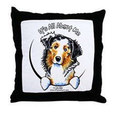Australian Shepherd IAAM Throw Pillow