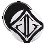 JG Diamond Black Magnet