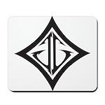 JG Diamond Black Mousepad